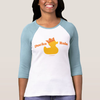 Regla de los patos (Girlie atlético) Camisas