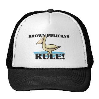 ¡Regla de los PELÍCANOS de BROWN! Gorro De Camionero