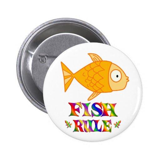 Regla de los pescados pin redondo 5 cm