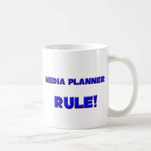 ¡Regla de los planificadores de medios! Tazas