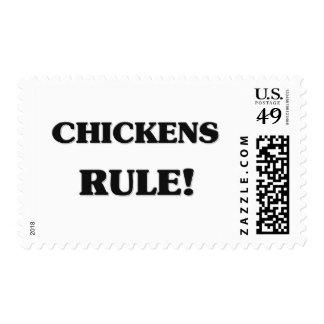 Regla de los pollos sellos