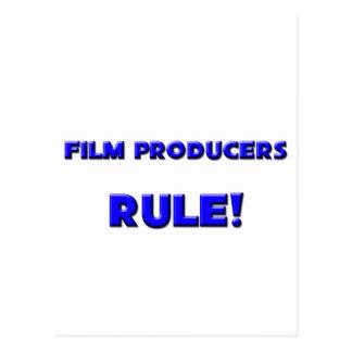 ¡Regla de los productores cinematográficos! Tarjetas Postales