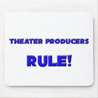 ¡Regla de los productores del teatro! Tapete De Ratones