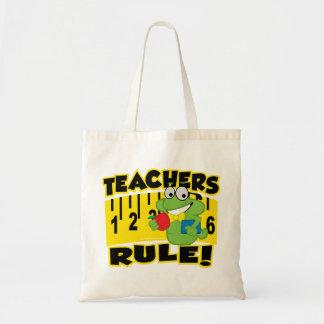 ¡Regla de los profesores! Bolsa Tela Barata
