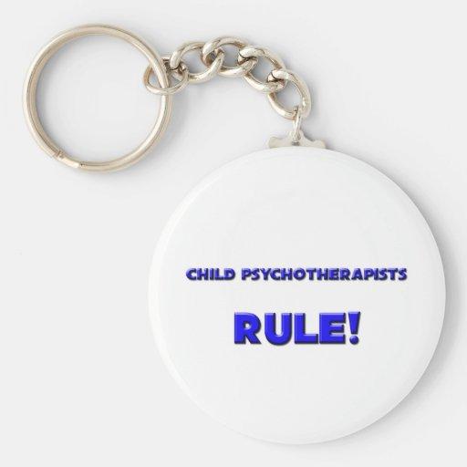 ¡Regla de los psicoterapeutas del niño! Llavero Personalizado