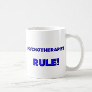 ¡Regla de los psicoterapeutas! Tazas De Café