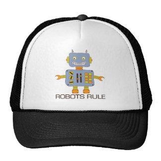 Regla de los robots gorra