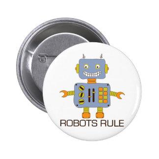 Regla de los robots pin redondo 5 cm