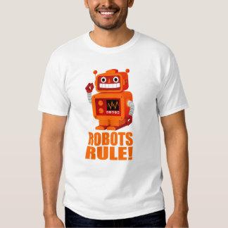 ¡REGLA DE LOS ROBOTS! PLAYERA
