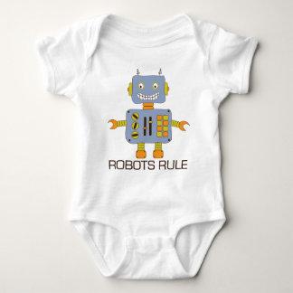 Regla de los robots remeras