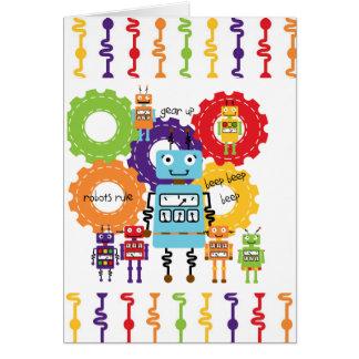 Regla de los robots tarjetas