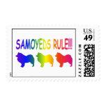 Regla de los samoyedos sellos