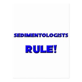 ¡Regla de los Sedimentologists! Tarjeta Postal