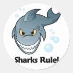¡Regla de los tiburones! Etiqueta
