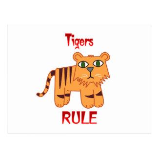 Regla de los tigres postales