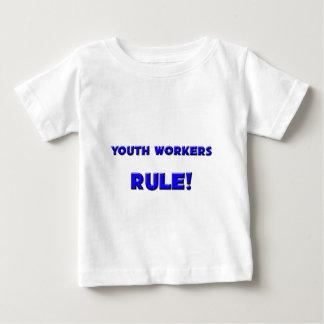¡Regla de los trabajadores de la juventud! Remeras