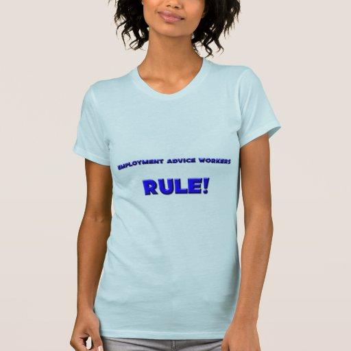 ¡Regla de los trabajadores del consejo del empleo! Camisetas