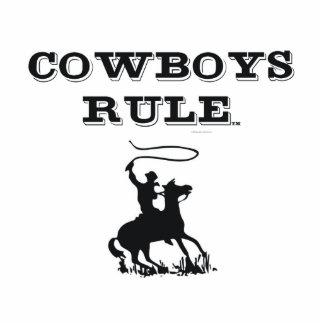 Regla de los vaqueros de la CAMISETA Fotoescultura Vertical
