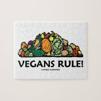 ¡Regla de los veganos! (Pila de verduras) Puzzles