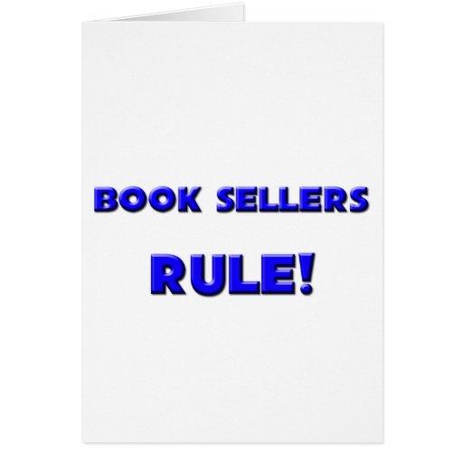 ¡Regla de los vendedores de libro! Tarjeta De Felicitación