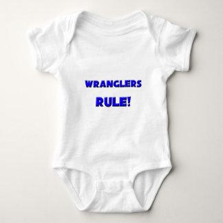 ¡Regla de los Wranglers! Camiseta