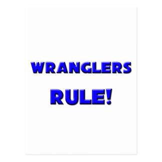 ¡Regla de los Wranglers! Postales
