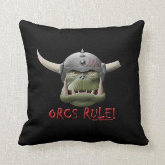 ¡Regla de Orcs! Cojines