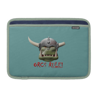 ¡Regla de Orcs Fundas Macbook Air