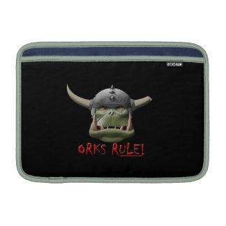 ¡Regla de Orks Fundas Para Macbook Air