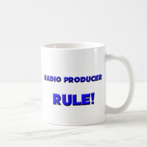 ¡Regla de radio de los productores! Tazas De Café