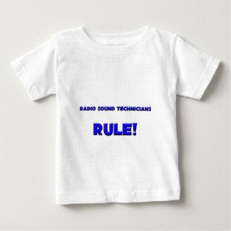¡Regla de radio de los técnicos sanos! Camiseta