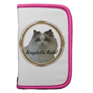 ¡Regla de Ragdolls! Bicolor azul del gato Planificadores