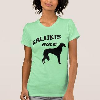 Regla de Salukis Tshirt