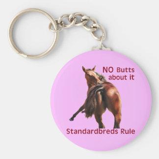 Regla de Standardbreds Llavero Redondo Tipo Pin