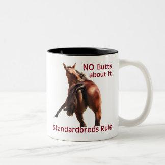 Regla de Standardbreds Taza De Dos Tonos