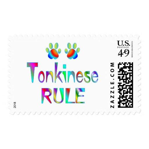 Regla de Tonkinese Sello