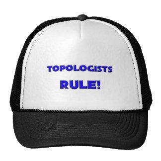 ¡Regla de Topologists! Gorro De Camionero