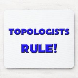 ¡Regla de Topologists! Tapetes De Ratón