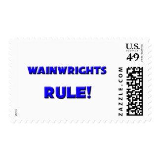 ¡Regla de Wainwrights! Franqueo