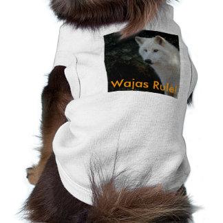 ¡Regla de Wajas! Camiseta extraordinariamente tama Playera Sin Mangas Para Perro