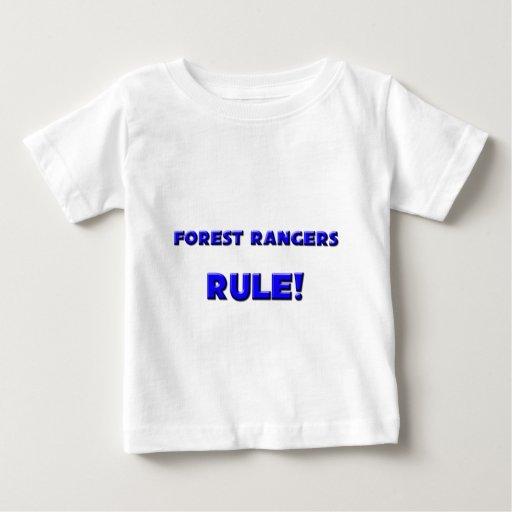 ¡Regla del Forest Rangers! Playeras