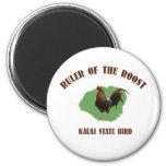 Regla del imán de Kauai del gallinero