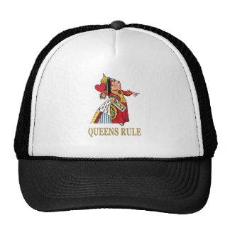 ¡Regla del Queens! Gorras De Camionero