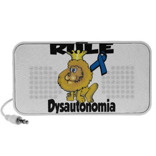 Regla Dysautonomia Notebook Altavoces