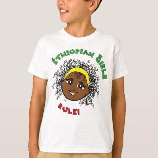 ¡Regla etíope de los chicas! Playera
