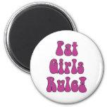 ¡Regla gorda de los chicas! Imán