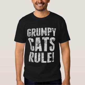 ¡Regla gruñona de los gatos! Camisas