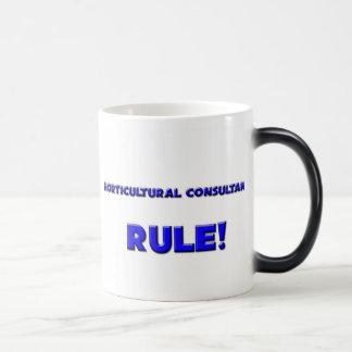¡Regla hortícola de los consultores! Taza De Café
