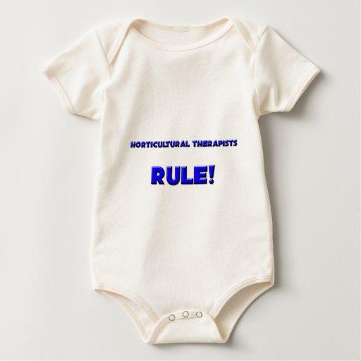¡Regla hortícola de los terapeutas! Trajes De Bebé