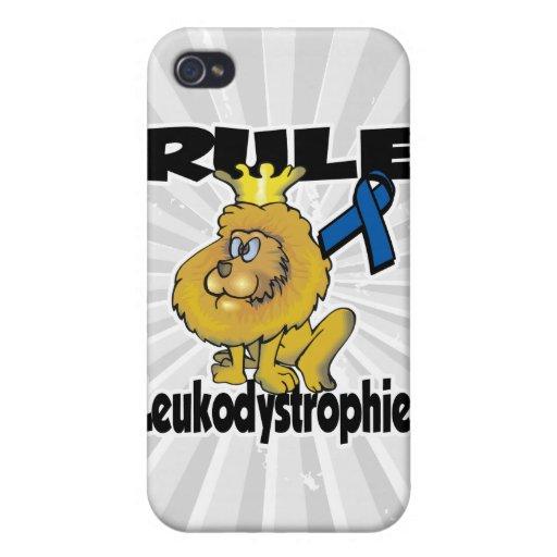 Regla Leukodystrophies iPhone 4 Funda